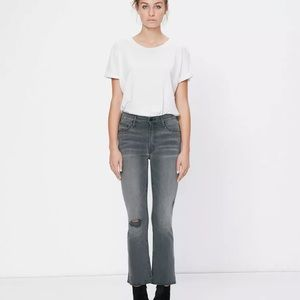 NWT MOTHER insider last chance saloon jeans 28